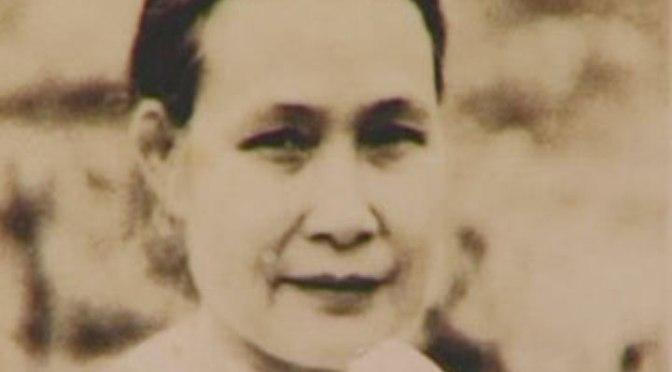 Bà Phạm Thị Thanh, vợ đầu của ông Ba Quốc.