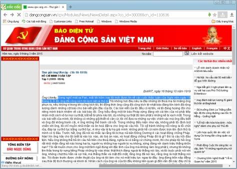 NAQ gioi Tranh Luan tu 1919